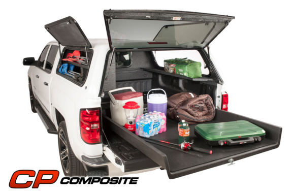 Loadmaster slide loaded with camping equipment