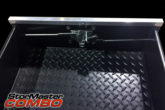 heavy duty diamond panel inside cargo management system drawers