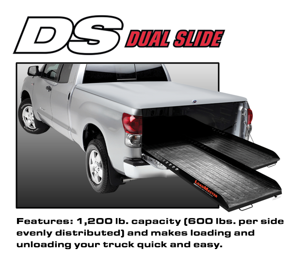 Loadmaster dual cargo slide with 1200 lb capacity